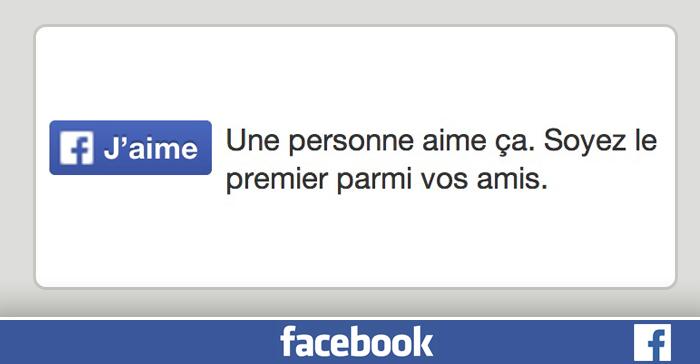 comment avoir le bouton j aime sur facebook