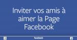 Inviter vos amis à aimer la Page Facebook