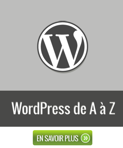 Formation - WordPress de A à Z