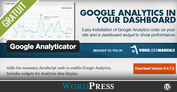 Comment ajouter Google Analyticator dans votre site WordPress