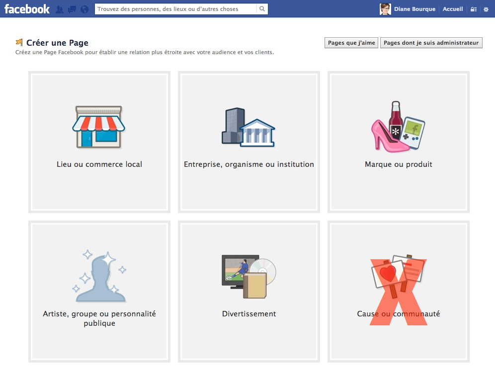 Facebook Creer Une Page