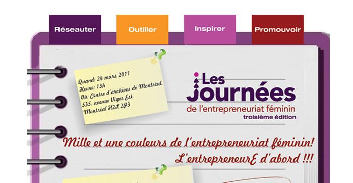 Journée de l'entrepreneuriat féminin – Compagnie F et Femmessor – Montréal