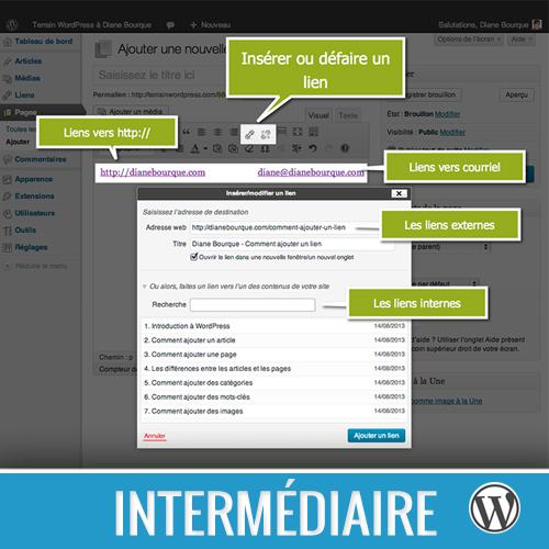 Comment insérer un lien interne, externe ou courriel dans vos articles et pages WordPress