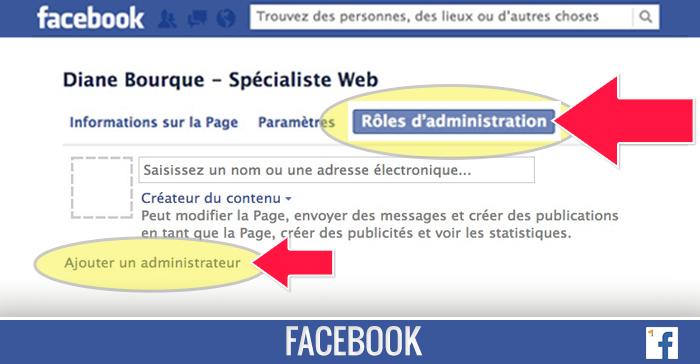 Comment Ajouter Un Administrateur A Votre Page Facebook
