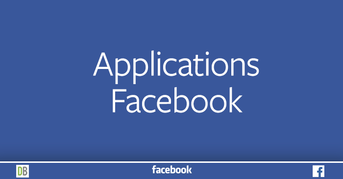 Applications Facebook