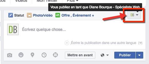 Comment Publier Sur Votre Page Facebook En Tant Que Page Ou En Tant